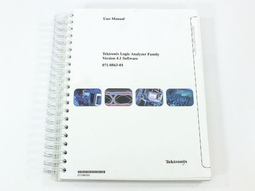 Tektronix Logic Analyzer Family  Version 4.1 Software User Manual