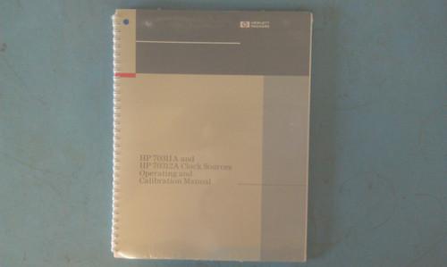HP 70311-90000 70311A and 70312A Operating and Calibration Manual