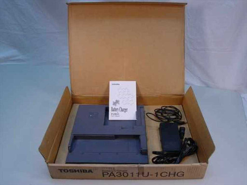 Toshiba Tecra 8100 Battery Charger w/ PA 2450U AC Adapter PA3011U-1CHG