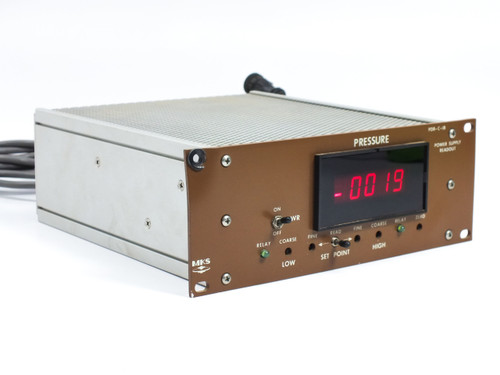 MKS PDR-C-1BSPPC Digital Readout Unit Pressure/Power Supply Drytek S100 Wafer