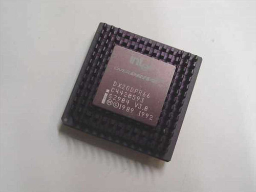 Intel 486 Overdrive Processor - DX20DPR66 (SZ904)