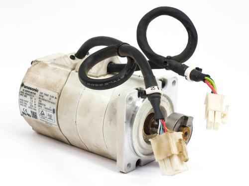 Panasonic AC Servo Motor 92 Volt 3000 RPM .2kW MSMA022C1A