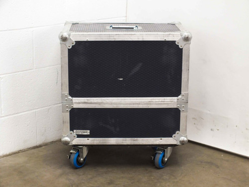 "Redwood Packaging 22"" x 15.5"" x 20""  Blue Road Case with Castors"