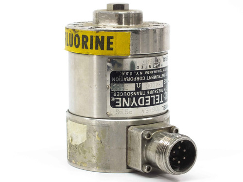 Teledyne Taber  206-SA  Pressure Transducer 0-4000 psi - 350 Ohms