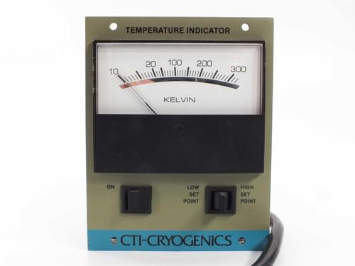 CTI Cryogenics 804200G003  Temperature Indicator 10-350 Kelvin