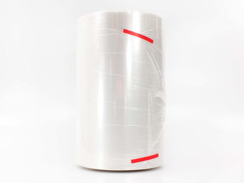 "Cryovac D940 9R213 Clear Shrink Film, Gauge .60 Mils, 5827 Sq ft., 406mm x 1331m & 16"" W, Product 9R213"