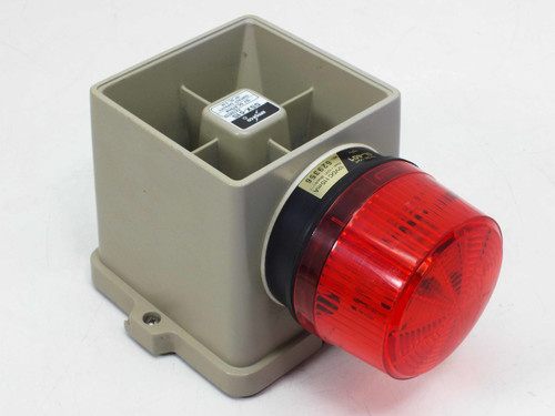 Amseco SSX-51SR  SSX-51S Armored Siren with Red Strobe SL-401 12VDC 0.67A