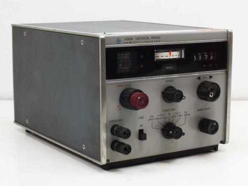 Hewlett Packard 4260A  115/230 Volts 50-60 CPS Universal Bridge