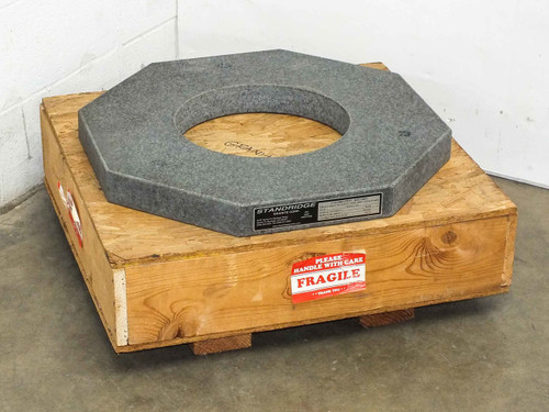Stanridge ISO 9000 Certified  Octagonal Custom Granite Surface Base Plate