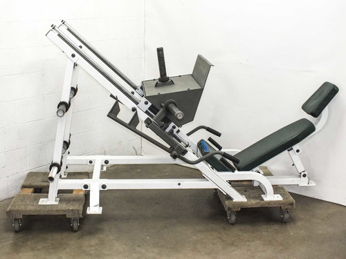 Hoist F-355  Plate Loaded Angled Leg Press Freeweight Machine