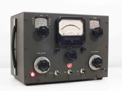Boonton Radio Co Type 190-A  Q Meter