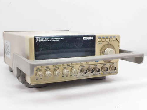 Tenma 72-6644  Function Generator with Frequency Counter - Cracked case on front top right corner