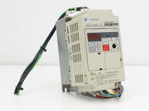 Yaskawa CIMR-J7AA20P7  VS Mini J7 3 Phase 50/60 Hz to 400 Hz Inverter