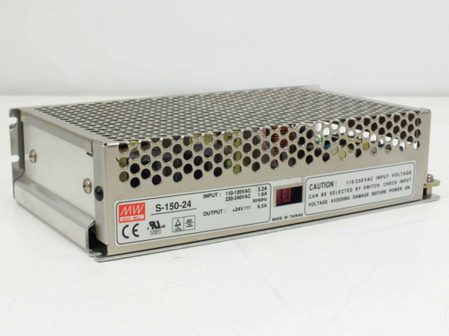 Mean Well S-150-24  Single Output Switching Power Supply