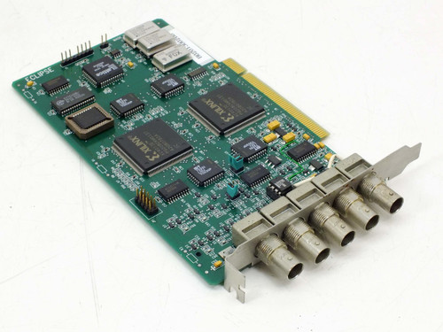 Eclipse Data PCI  5 Port Coaxial Video Card with Xilinx XC4013E Chips
