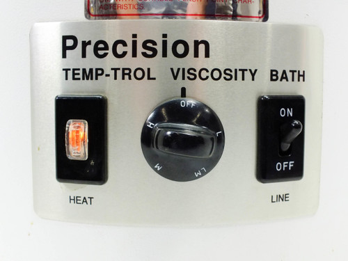 Precision Scientific 74944  Temp-Trol Viscosity Bath 2.75Gal (10.4l) Immersion Heater