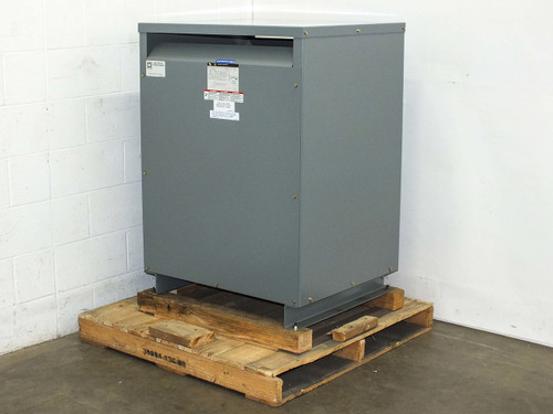 Square D 100TQ56261R1  100 KVA 480-277 3PH to 208-120 Volt General Purpose Transformer