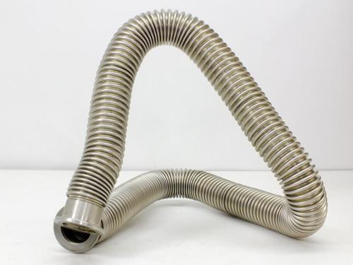 "Stainless Steel 1 1/2"" Diameter  36"" Length Hose Tubing"