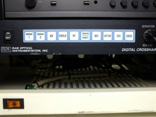 "Panasonic ST-1000M  10"" Color Video Monitor with Ram Optical Crosshair Generator"