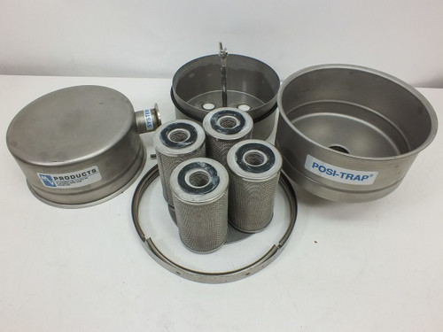 """MV Products 50342-1  8"""" Posi-Trap single stage vacuum inlet trap"""