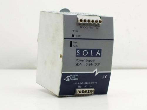 Sola SDN10-24-100P  DC Power Supply DIN-Rail