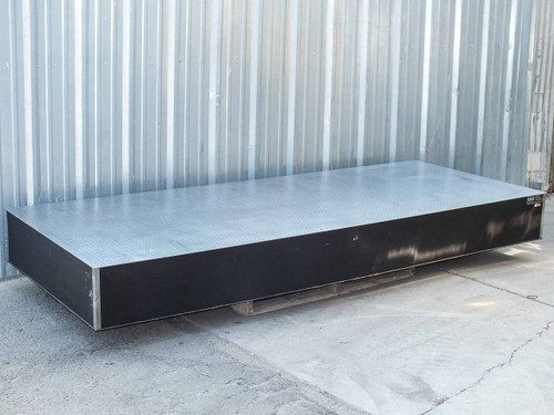"""Newport NRC  10' x 4' x 12"""" Stainless Steel Optical Breadboard Vibration Isolation Table"""