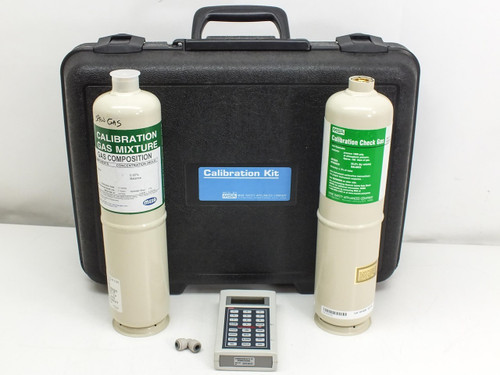 MSA  809086  Ultima Controller w/ calibration gas tanks and case