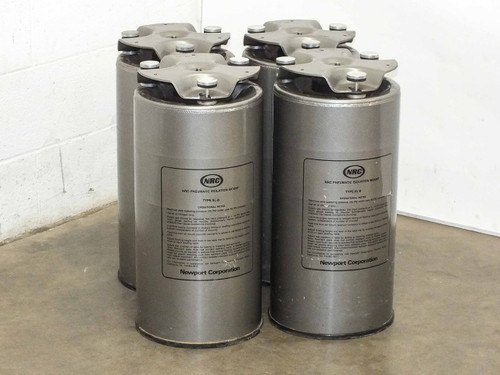 Newport NRC XL-B  Lot of 4 Pnuematic Isolation Mount Anti Vibration Legs
