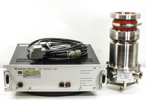 Seiko-Seiki SCU-300  Turbo Molecular Pump Control Unit and STP-300 Pump