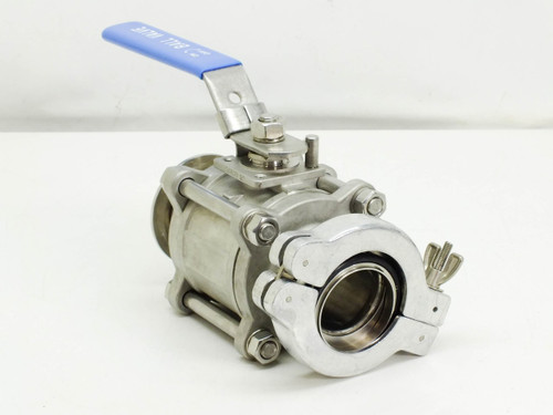 Generic 2 Inch  1000 WOG 316 Stainless Steel Ball Vacuum Valve with Clamp