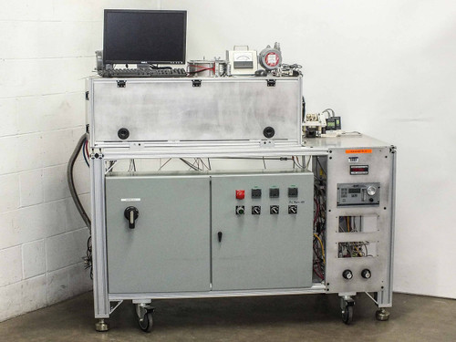 """Hydrogen Annealing  3"""" Vacuum Tube Furnace with Computer Controls"""