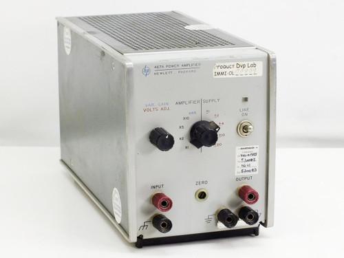 HP 467A  Power Amplifier 115/230V, 0.8A