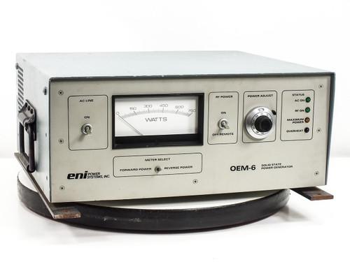 Eni OEM-6  Solid State RF Power Generator Water Cooled 0-750 Watt
