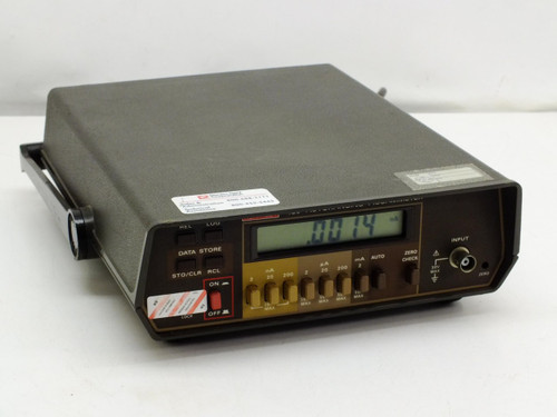 Keithley 485  Autoranging Picoammeter