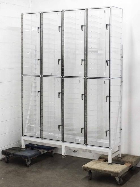TDI TDI960  Huge 8 Door Nitrogen Drybox Acrylic Photomask Dessicator