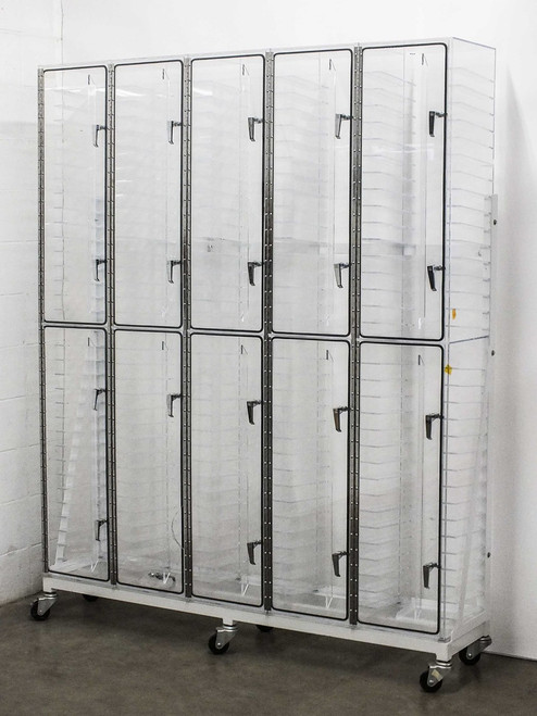 TDI TDI160CPC  Acrylic Photomask Nitrogen Dry Box Cabinet on Wheels