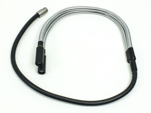 "Fiber-Optic Microscope  Light Source Flex Cable with Split / Dual Output 44"" Long"