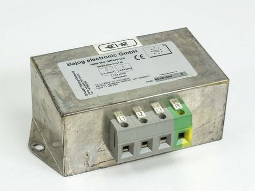Bajog Electronic GmbH GB.D3.020A.X.Y.01.96  Power Line Filter
