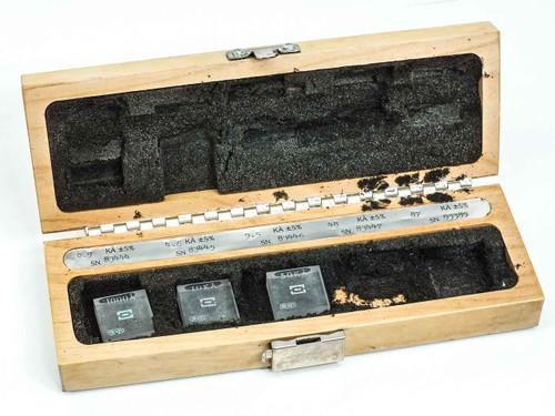 Sloan Dektak  Calibration Standards Set 1000A, 10KA and 50KA with Case