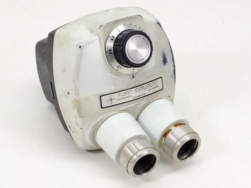McBain Instruments White  Microscope Head 0.7x-3.0x Zoom Magnification