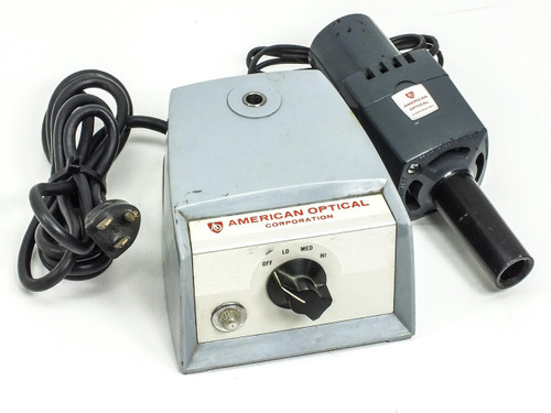 American Optical 365 T  Microscope Light Source / Illuminator NO BULB