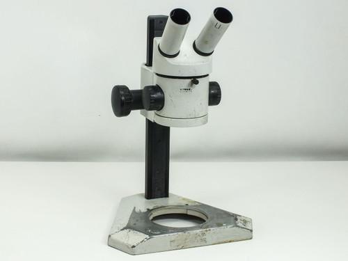 Wild Heerbrugg Binocular  Microscope 6.4x - 40x Head w/Focus Block and Stand