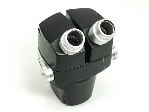 Reichert 569  Stereo Star ZOOM 0.7x - 3.0x Microscope Head Black