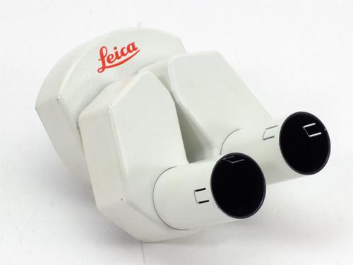 Leica Microscope  Binocular Head 30mm Eyepiece Tubes Interpupilary Adjustable