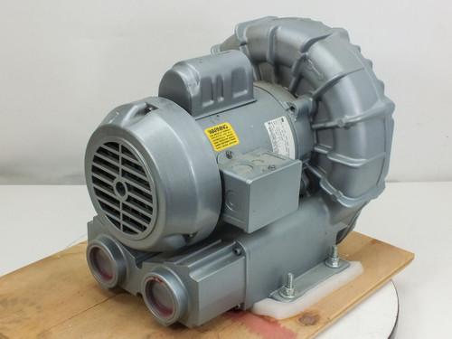 Gast R4110-2  Regenair Regenerative Blower 1 HP, 115/208-230V, 50/60Hz, 1 Phase