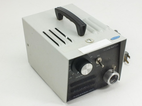 K&S 33700-6005-000  Fiber Optic IIluminator Power Supply for Microscope