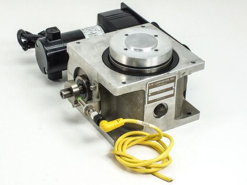 Lancaster IT75-10-330  Rotary Indexer with Bodine 1/17 HP 83RPM Motor