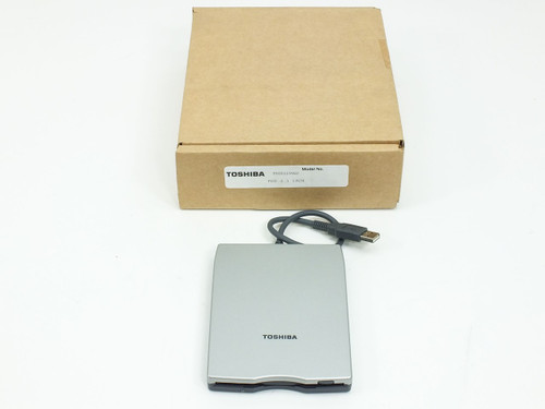Toshiba PA3043U-1FDD USB External Laptop Floppy Drive 1.44MB NEW OPEN BOX