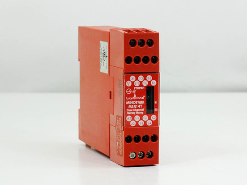 Guardmaster MSR14T  Minotaur Dual Channel Safety Relay 24VDC