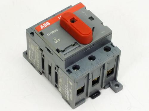 ABB OT63E3  60 AMP Switch Disconnector 600 VAC